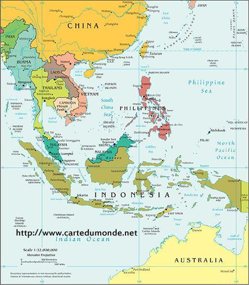 Mapa Polityczna Azji Poludniowej Mapa Swiata