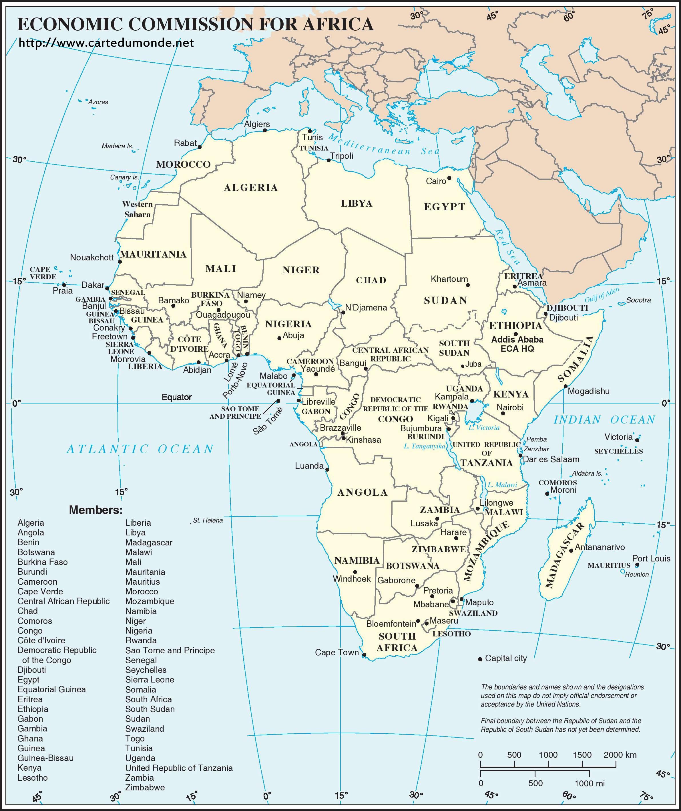 Wirtschaftskommission für Afrika