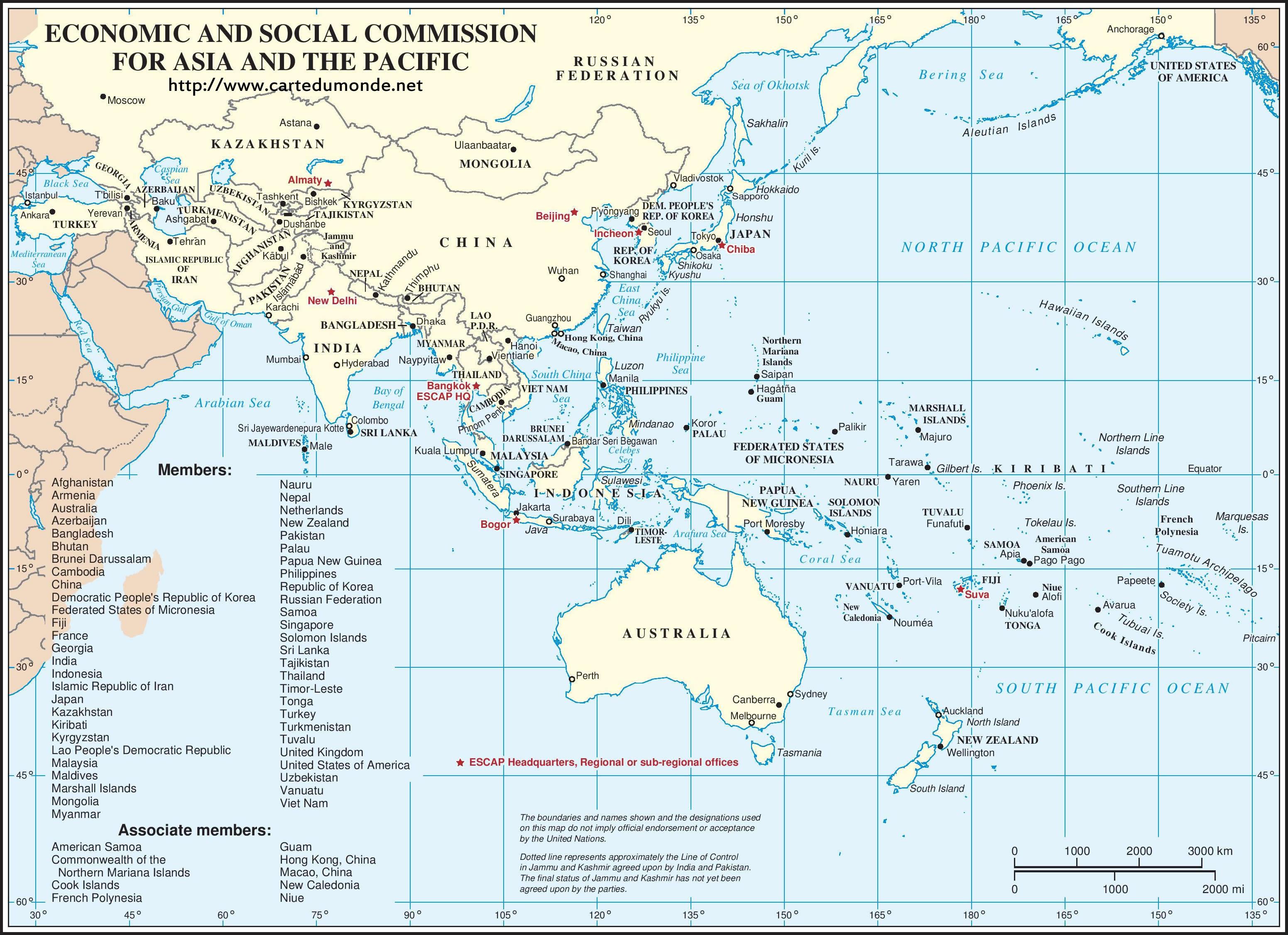 Wirtschaftskommission für Asien und den Pazifik