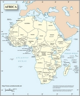 English Africa Map