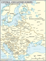Central and Eastern Europe Map