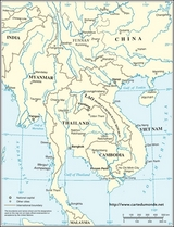 Mekong Region Map