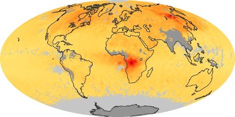 World Map Koolmonoxide