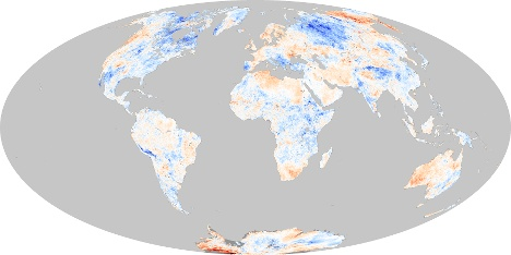 Weltklima Karte