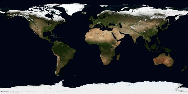 Kaarten wereld