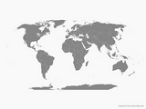 World Map om te downloaden