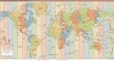 Map World standard time zones