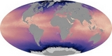 World Map Surface Temperature