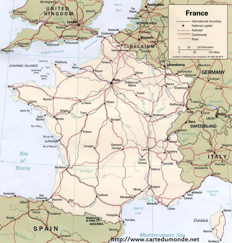 Grande carte France
