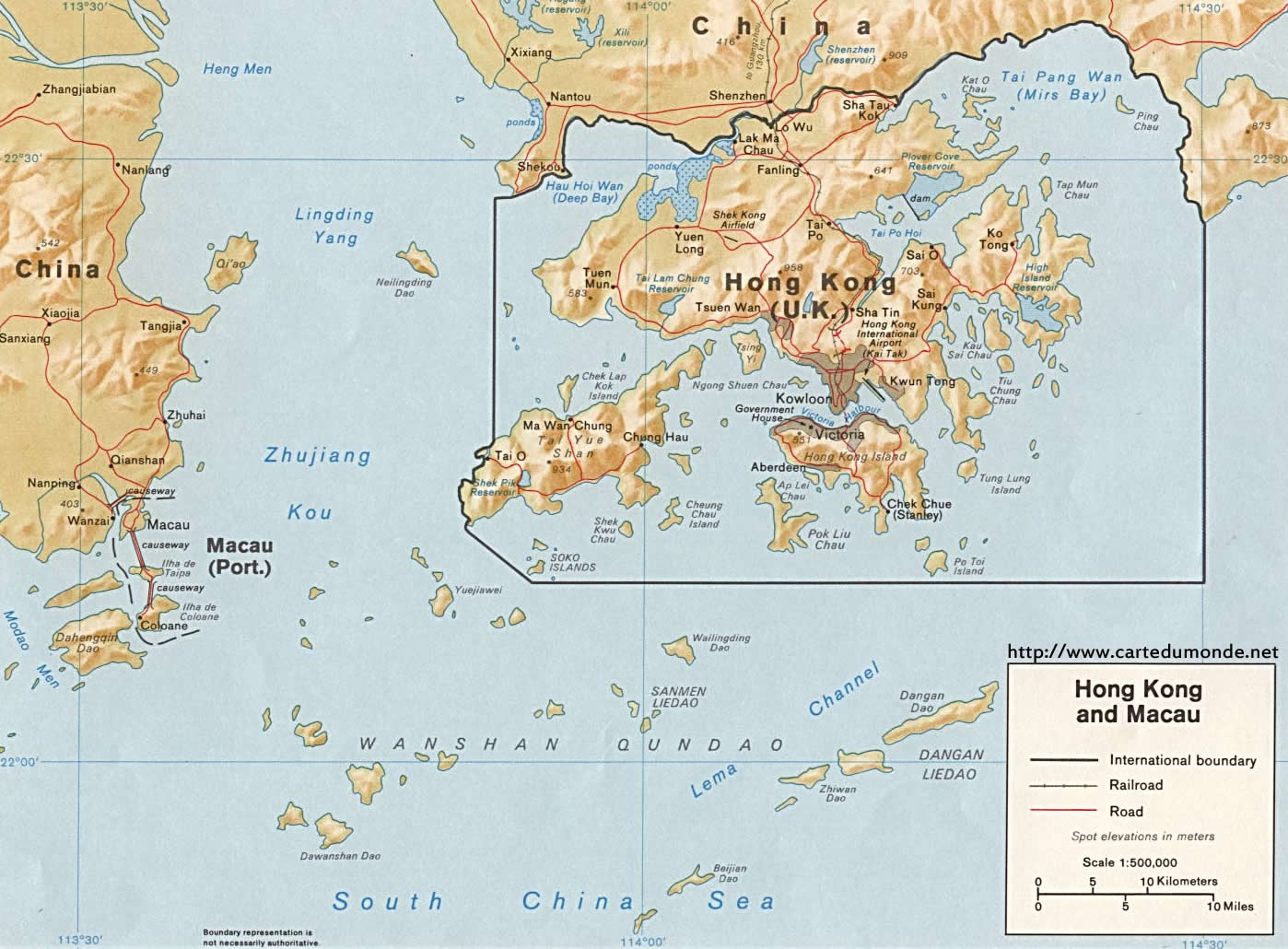 Sri Lanka Karte Zum Drucken.Karte Hongkong Karte Auf Land Hongkong