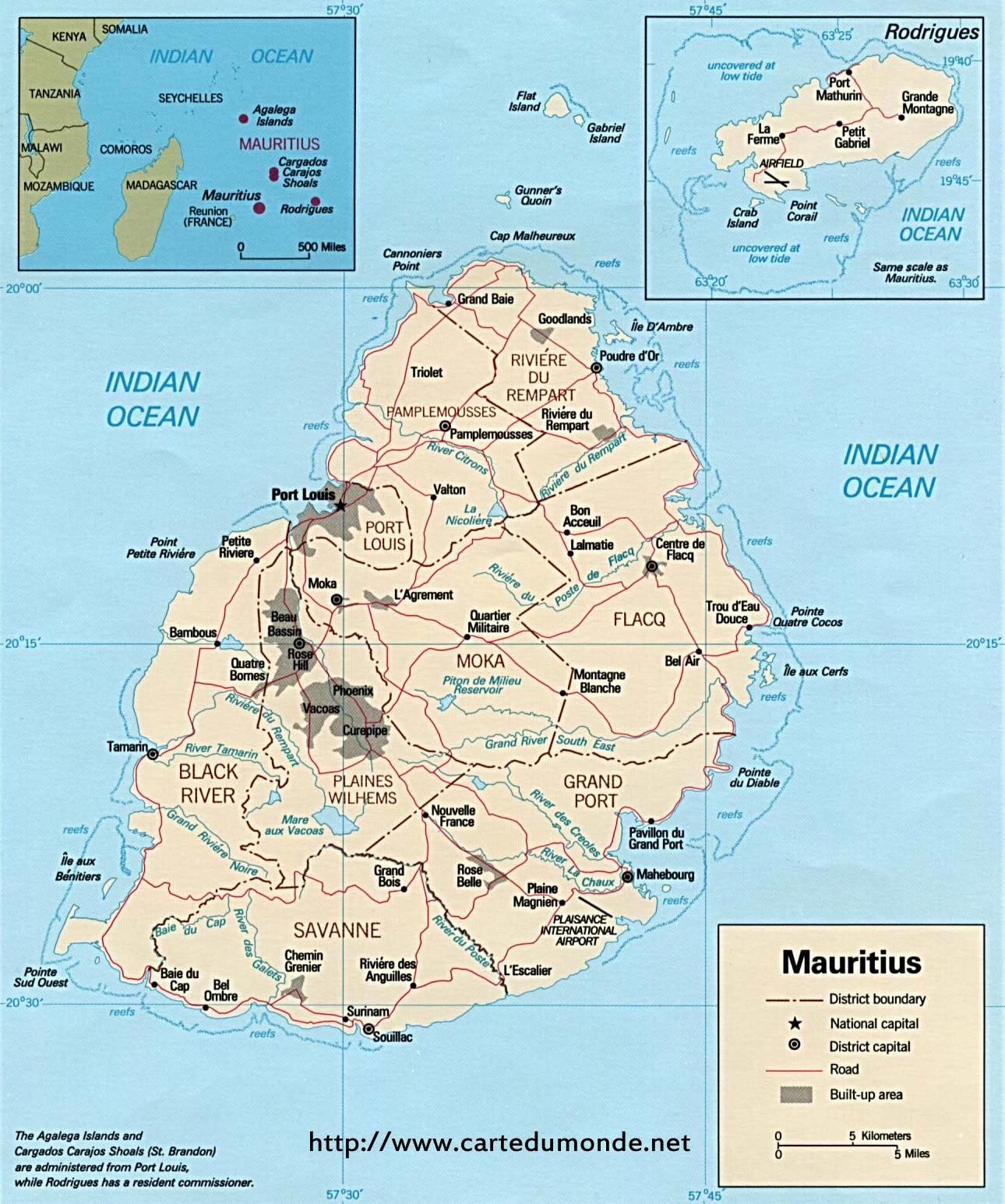 Karte Vergrossern Mauritius Auf Weltkarte