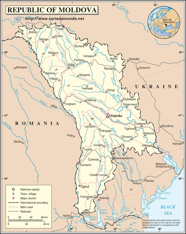 Moldawien Karte.Karte Vergrößern Moldawien Auf Weltkarte