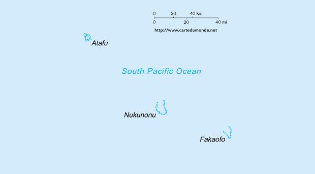 Carte Tokelau