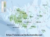 Mapa Aland