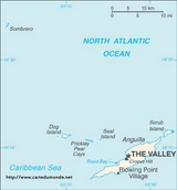 Map Anguilla