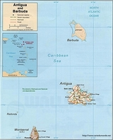 Map Antigua and Barbuda