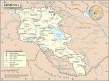 Kaart Armenië