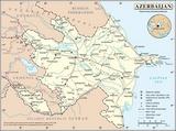 Map Azerbaijan