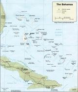 Mapa Bahamy