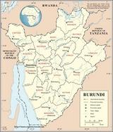 Mapa Burundi