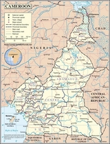 Map Cameroon