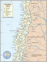 Kaart Chili