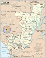 Karte Kongo
