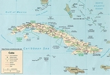 Kaart Cuba