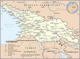 Karte Georgia