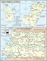 Map Equatorial Guinea