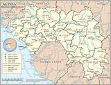 Carte Guinée