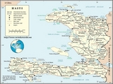 Karte Haiti