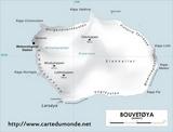Carte Île Bouvet