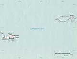 Carte Îles Caïmans