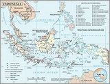 Mapa Indonezja