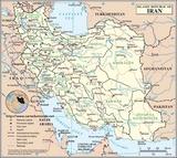 Kaart Iran