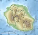Mapa Reunion