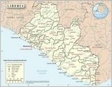Map Liberia