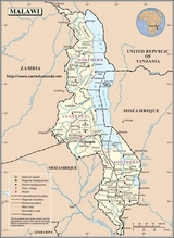 Karte Malawi