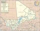 Karte Mali