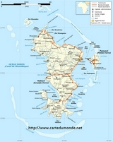 Carte Mayotte