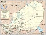 Kaart Niger