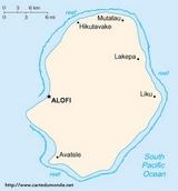 Kaart Niue