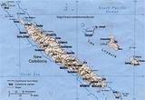 Mapa Nueva Caledonia
