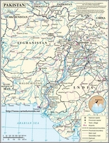 Map Pakistan