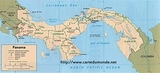 Kaart Panama