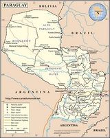 Map Paraguay