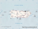 Kaart Puerto Rico