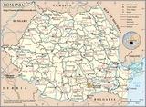 Mapa Rumunia