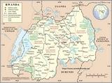 Karte Ruanda